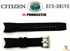 Citizen Eco-Drive Promaster BJ2115-07E Original Black Rubber Watch Band Strap