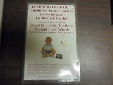 Learning To Read For Beginners Cassette 4 The Peaks Presents 898 Words