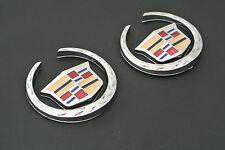 2 x Emblem Schriftzug Aufkleber Badge für Cadillac Route 66 XTS SLS CTS ATS SRX