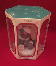 ME TO YOU BEAR TATTY TEDDY COLLECTABLE WINTER SNOW SKI FIGURINE ORNAMENT GIFT