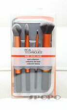 Real Techniques CORE COLLECTION (Foundation Buffing Contour) Brush Set Authentic