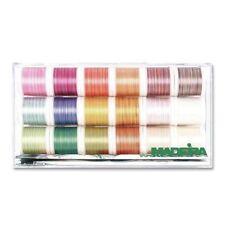 MADEIRA Cotona n. 50 Multicolore RICAMO Filo Assortimento Casella