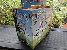 Cool Beer Six Pack Holder (6-pack) ~ ANGRY ORCHARD Crisp Apple Hard Cider ~ OHIO