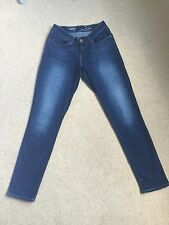 Womens Levis Bold Curve Skinny Jeans W25 L29 Fab Condition (284)