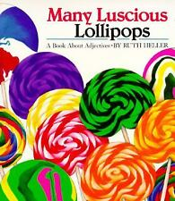 Kids cool paperback:Many Luscious Lollipops-fun look at adjectives-describing@