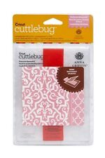 ELABORATE QUATREFOIL Cuttlebug Embossing Folder & Border A2 by Anna Griffin