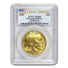 2006 1 oz Gold Buffalo Coin - MS-69 First Strike PCGS - SKU #15307