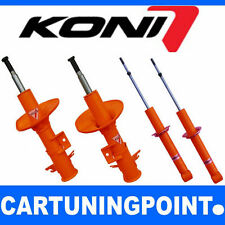 Koni Stoßdämpfer Satz VA+HA Vorderachse+Hinterachse Vorne Hinten STR.T Orange