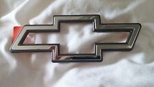 NEW Genuine GM Chevrolet BOW TIE Emblem Silver / Chrome with Black Outline