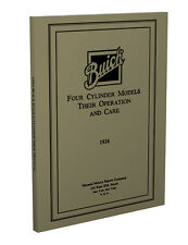 1924 Buick 4 Cylinder Car Repair Shop Manual 24 Service Book