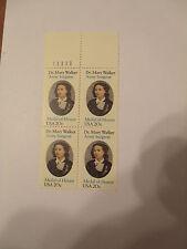 SCOTT #2013 DR MARY WALKER Surgeon 1982 - 20 Cents Stamp  111111 UL