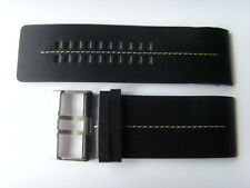 FOSSIL ORIGINAL remplacement Bracelet en cuir jr9642 uhrband watch strap Noir Black