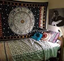 Psychedelic Tapestry Wall decor Tapestries Indian Cotton Bedspread Hippie Art