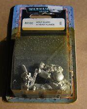 40k Rare oop vintage Metal Space Marine Wolf Guard Terminator Heavy Flamer NIB