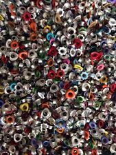 Lot of 1000+ Mixed Size Eyelets Embellishments Hearts Flowers Circles Ovals