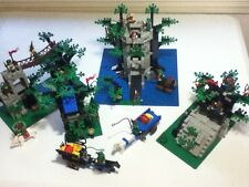 Entire Lego Forestmen Collection, all 6 sets 100% complete with instructions!