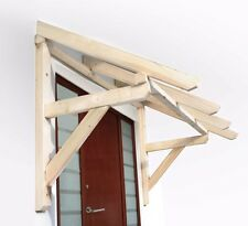 Timber Front Door Canopy Porch Hand Made Porch (140cm)