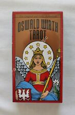 NEW Oswald Wirth Tarot Deck Cards DISCOUNTED FOR DENTED BOX
