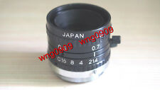 Japan Myutron U-TRON MV2514 CCTV TV Lens 25mm 1:1.4 F1.4 C-mount *USED* freeship