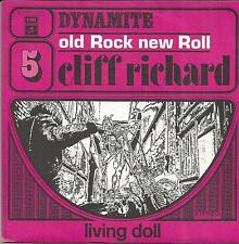 CLIFF RICHARD Dynamite FRENCH SINGLE COLUMBIA 1973 REISSUE