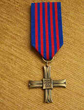 POLISH WAR CROSS - Battle of MONTE CASSINO 1944 - Medal WWII POLAND 2nd Corps WP