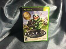 Halo Combat Evolved Microsoft Xbox Game of the Year 2001 Complete Black GOTY