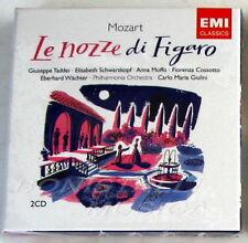 LE NOZZE DI FIGARO - TADDEI, SCHWARZKOPF, MOFFO - GIULINI - 2 CD Sigillato