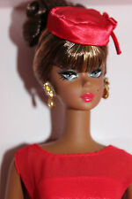 "Barbie Collector Fashion Model "" Little Red Dress"" NRFB 2014 Silkstone"
