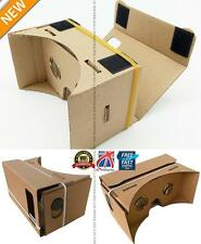 "DIY Google Cardboard Virtual Reality VR Mobile Phone 3D Glasses fr 5.0"" Screen M"
