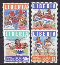 Liberia # 1200-03 MNH 1996 Olympics Issue Sports