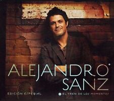 El Tren de los Momentos [CD/DVD] by Alejandro Sanz (CD 2007 Warner) New-Sealed