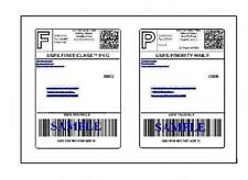 300 Easy Peel Quality Round Corner 8.5 x 11 Shipping Labels For USPS UPS PAYPAL