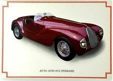 Cartolina Auto Avio 815 (Ferrari) Non Viaggiata