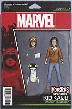 MONSTERS UNLEASHED #1 CHRISTOPHER ACTION FIGURE VARIANT KID KAIJU PRE ORDER