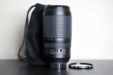 Nikon AF-S 70-300mm VR Lens!  FX Telephoto Lens w/ Hoya UV Filter!  US Version!