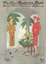 1920s Ladies Home Journal New Fashion Book 1926 1927 Pattern Catalog Ebook CD