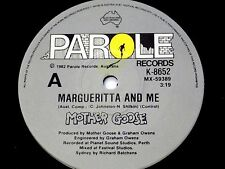 Mother Goose (N.Z) 1982 - Margueritta and Me / Fly By Night - Parole Records NM