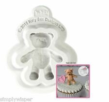 Katy Sue Design Baby Teddy Decoration Cake Crafting Silicone Mould Sugarcraft