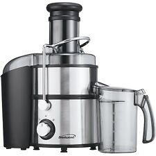 Brentwood Juicer JC-500 Stainless Steel Power Juice Extractor