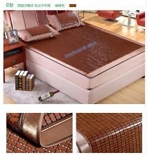 New Bamboo Mattress Mat Flexible Mahjong Bamboo Mat Full Queen King 3 Sizes 竹凉席