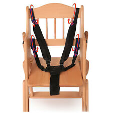 BW#A Baby 5 Point Harness Safe Belt Seat Belts For Stroller High Chair