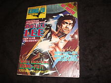 Bruce Lee Magazine KFM KUNG FU MONTHLY No 9 Martial Arts Enter The Dragon Poster