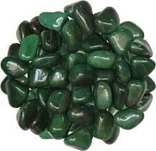 "Green Aventurine -- Polished Tumbled Stone (100g) --- ""Stone of Opportunity,"""