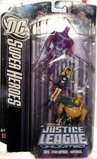 Justice League Unlimited: Aquaman/Stargirl/Parasite Action Figure Set/DC Comics