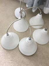 white ceramic light fitting ceiling pendant