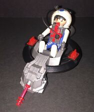 Playmobil 3083 Astronaut Space Pod Hovercraft W/Astronaut Figure  Free Shipping