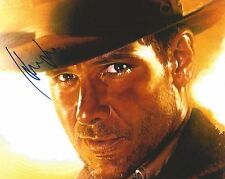 HARRISON FORD Hand Signed 8 x 10 INDIANA JONES Photo Autograph w/ COA AUTO