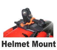 "Pro helmet mount with 1/4"" thread. Fits bullet camera go pro cam arm, leg, boot!"