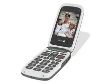 NEW DORO PHONE EASY 612  611 BLACK GREY EASY TO USE FLIP CAMERA UNLOCKED