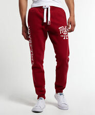 Superdry Trackster Slim Joggers Super State Red Size L